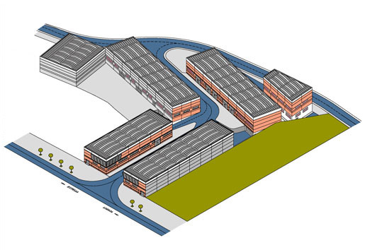 Alquiler y venta de naves industriales locales garajes y for Busco arquitecto